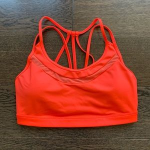 Bright orange Victoria's Secret Sport sports bra M